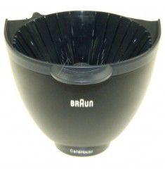 Porta Filtro negro cafetera Braun AromaPassion, CafeHouse