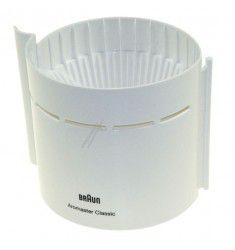 Porta filtro blanco cafetera Braun Aromaster